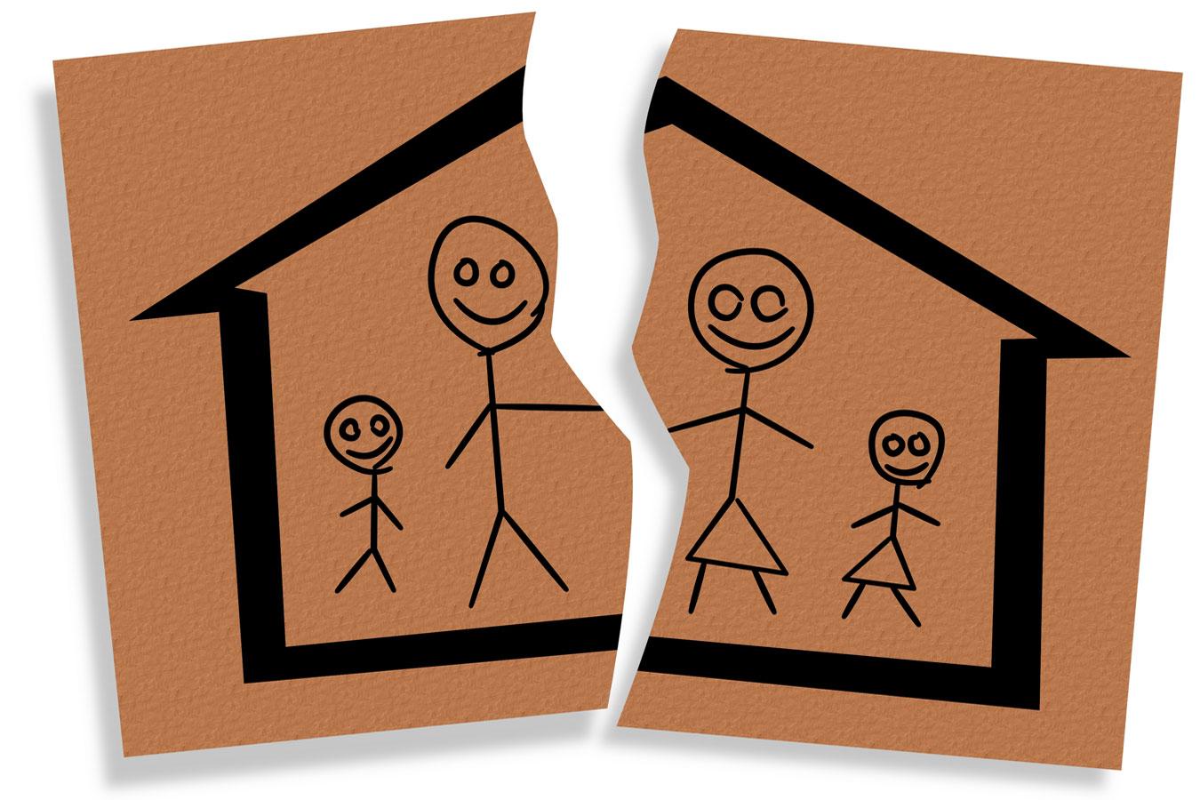 Общие положения при расторжении брака